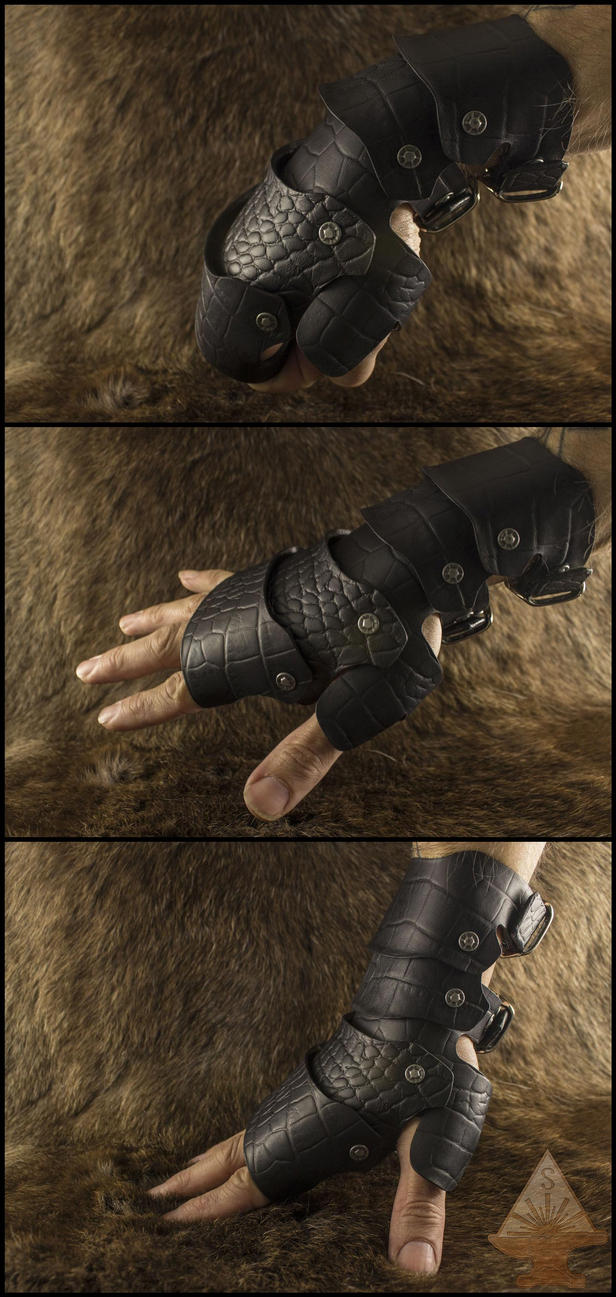 Dragonskin Gauntlets (For Sale) by ChaoseVIIn