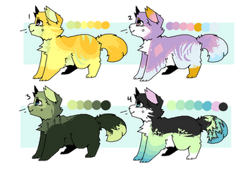 Fluffy Cat Adopts Set Price [ OPEN 3/4 ] by codeflsh