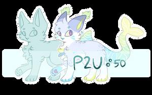 Customizable Feline Lineart Base | P2U by codeflsh