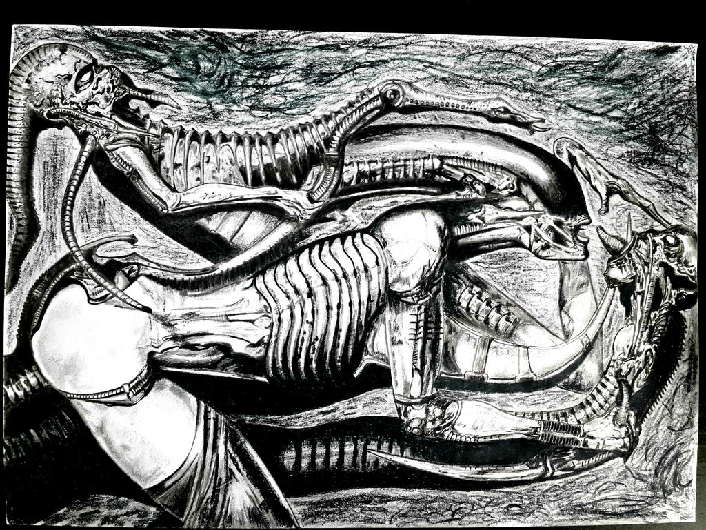 H.R Giger's Necronomicon (2017) by S1m0PI on DeviantArt H.r. Giger Necronomicon