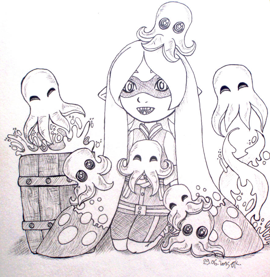 Baby Octolings By Calamity-Death On DeviantArt