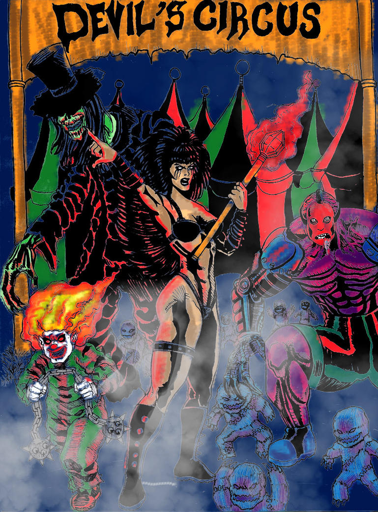 Devil Circus Color Rougb by Phillymon75