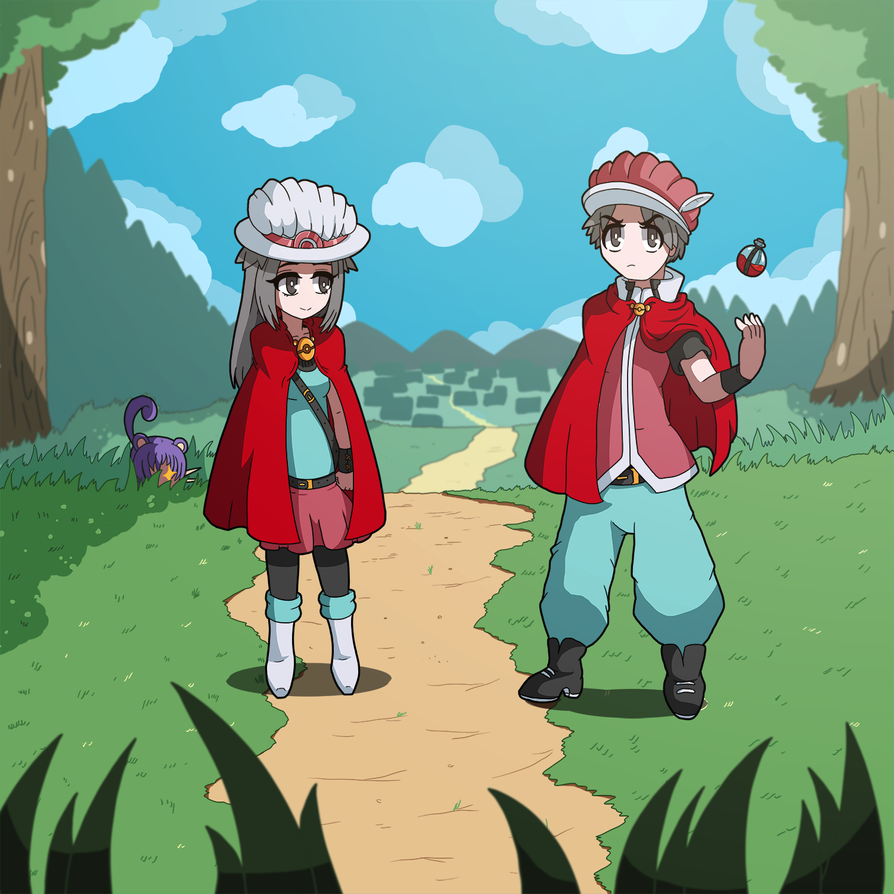PokeMage: Pokemages by Alulle