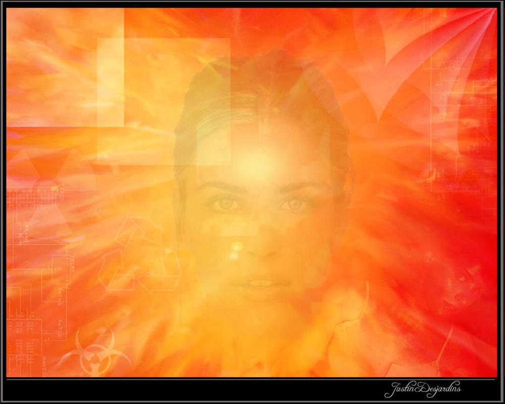 Orange horn section by JustinDesjardins