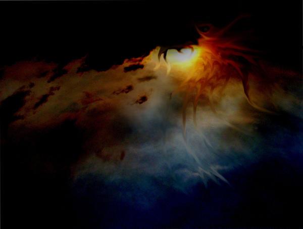 revised dragon sky by JustinDesjardins