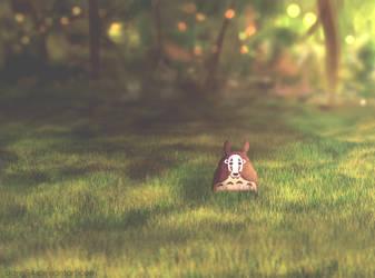 Totoro by dann94