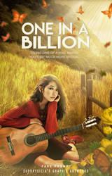 One in a billion (Wattpad Book Cover)