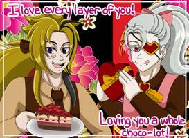 Valentines Day - Xavier and Blake by LilyandJasper