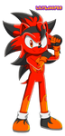Inferno the Hedgehog by LilyandJasper
