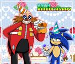 29 years of Sonic! by LilyandJasper