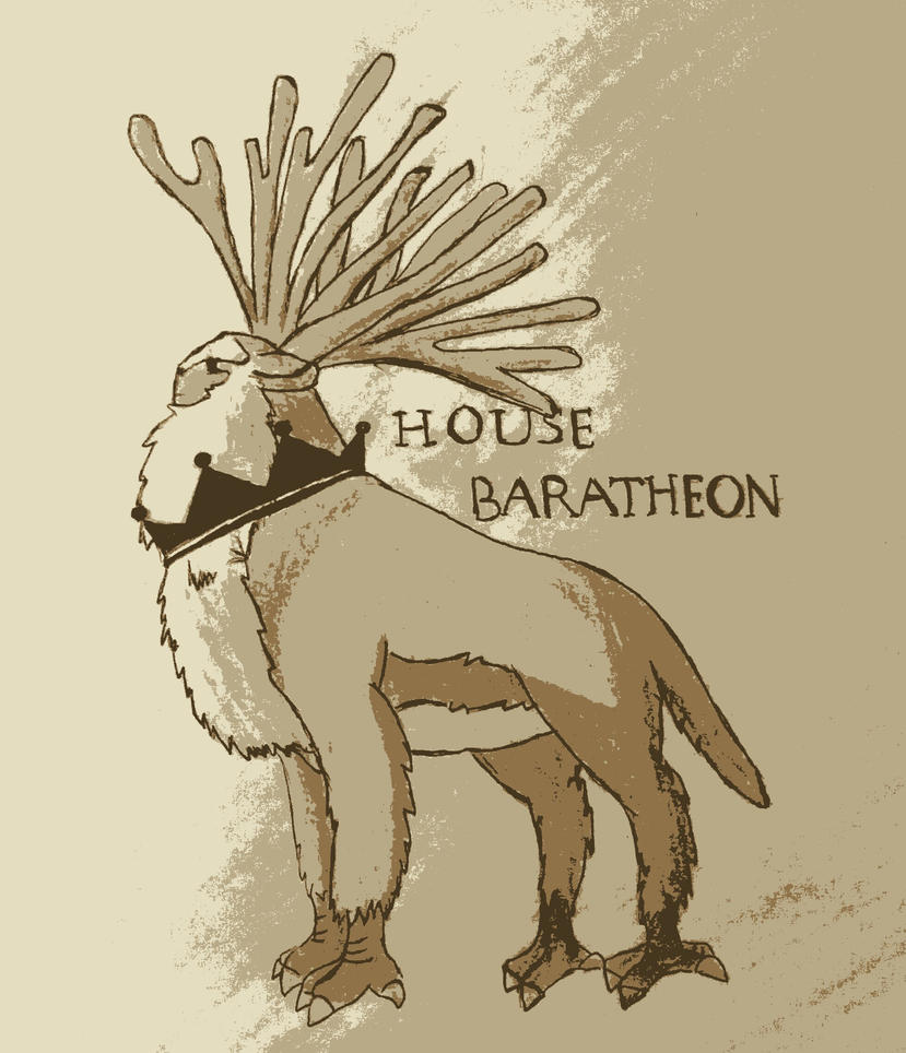 God Mononoke Game Of Thrones House Baratheon By Chazambre