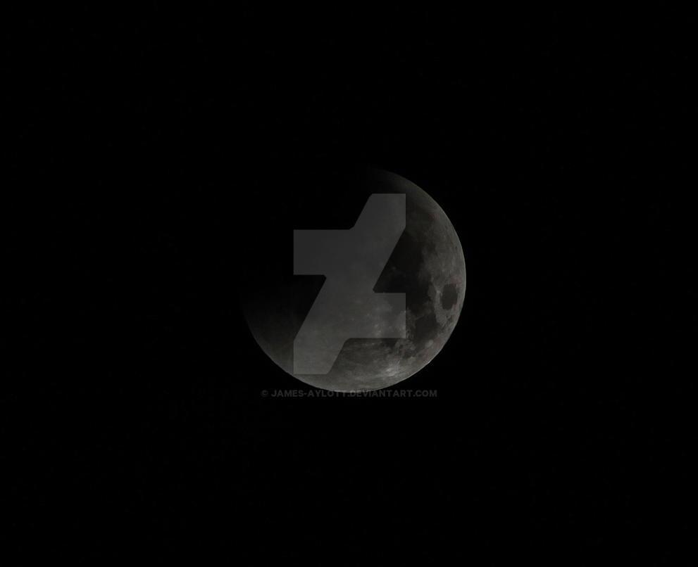 Lunar Eclipse #1 28/09/2015 by James-Aylott