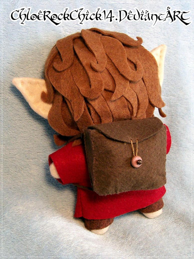 Bilbo Baggins plushie - Back by ChloeRockChick14