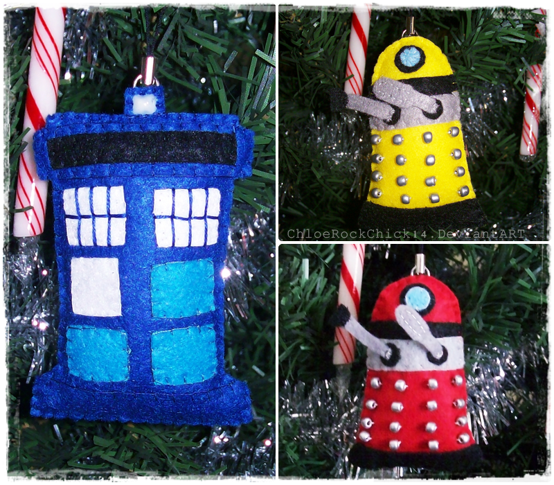 Doctor Who Christmas Ornaments by ChloeRockChick14 on ...