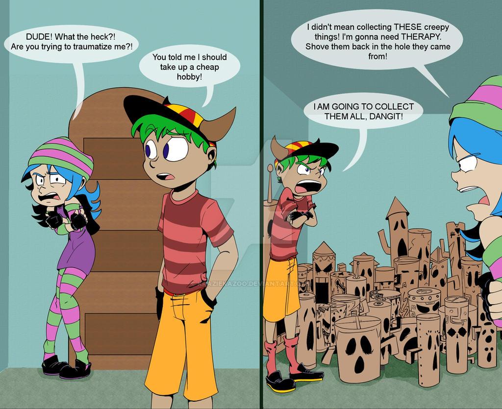 AC Comic: 001 by KrazieKazoo