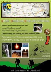 Explore Lanka International  - Brochure Design by zeebeezlk