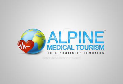 ALPINE MEDICAL TOURISM - Logo Design by zeebeezlk