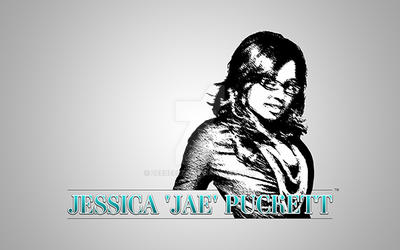 JESSICA 'JAE' PUCKETT - Logo Design by zeebeezlk