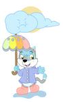 Laffy Taffy In the rain