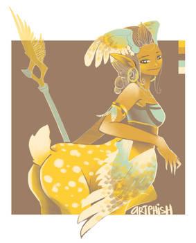 Enchantress Colour Template #02