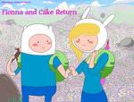 Fionna and Cake Return cover (2012)