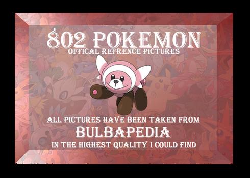 *FREE* 802 Pokemon Reference Download