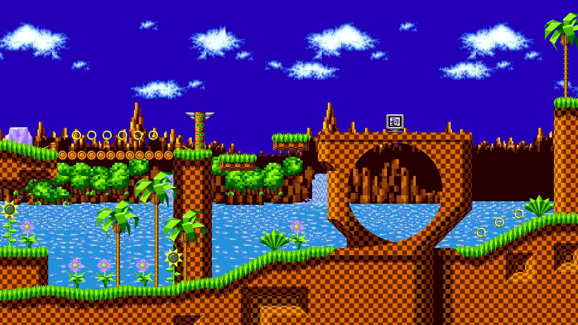 Wallpaper Sonic The Hedgehog Green Hill Zone By Jeikeytor On Deviantart