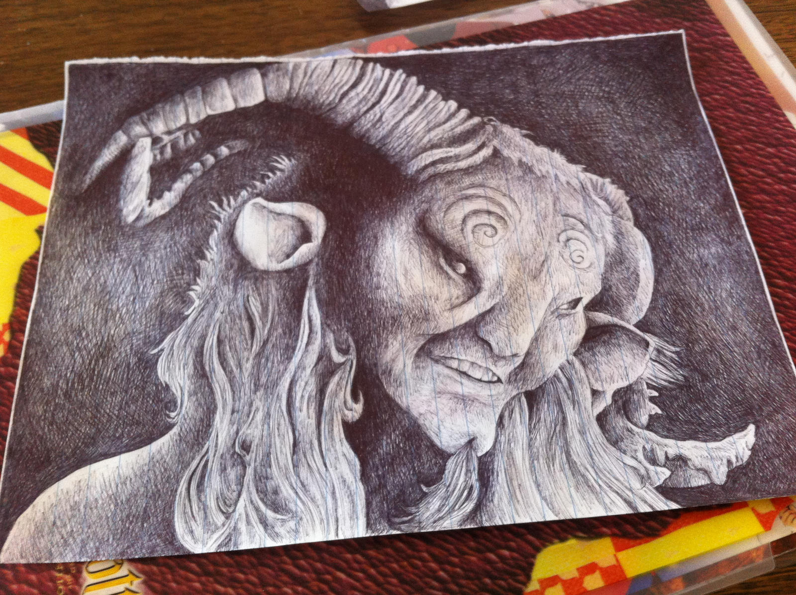 Pan's Labyrinth: The Faun by reedretnuh237 on DeviantArt
