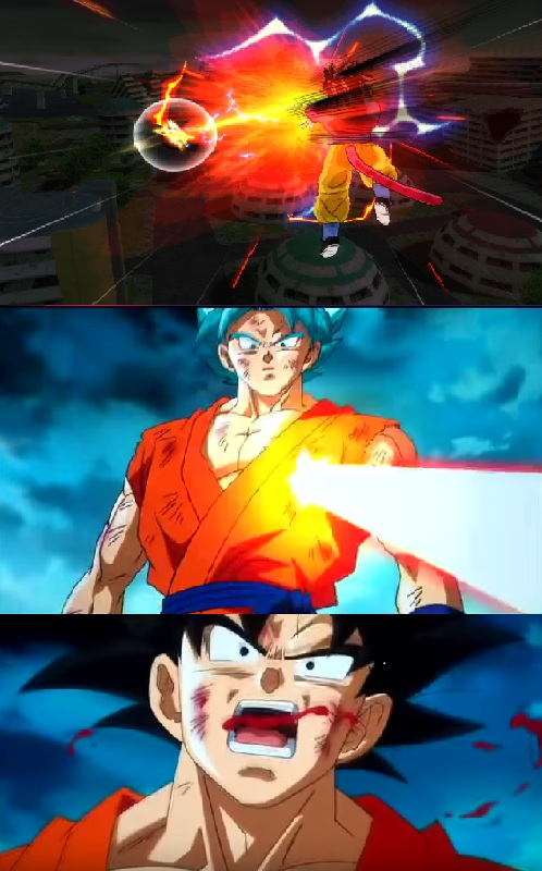 SSJ4 vs SSJGSSJ Goku by Mertyville on DeviantArt