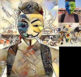 DeepArt: Masked Festival
