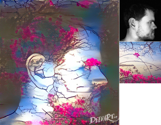DeepArt: Blossom Portrait