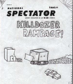 Killdozer Rampage by SA-goons