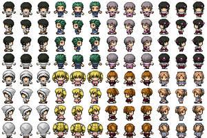 RPG Maker VX - Children (2) by Amysaurus121