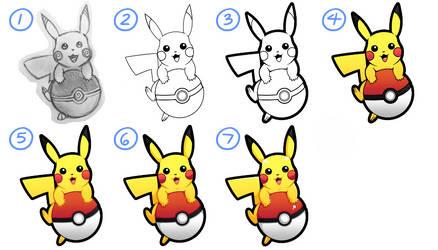Drawing/Shading Process No. 6