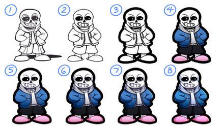 Drawing/Shading Process No. 7