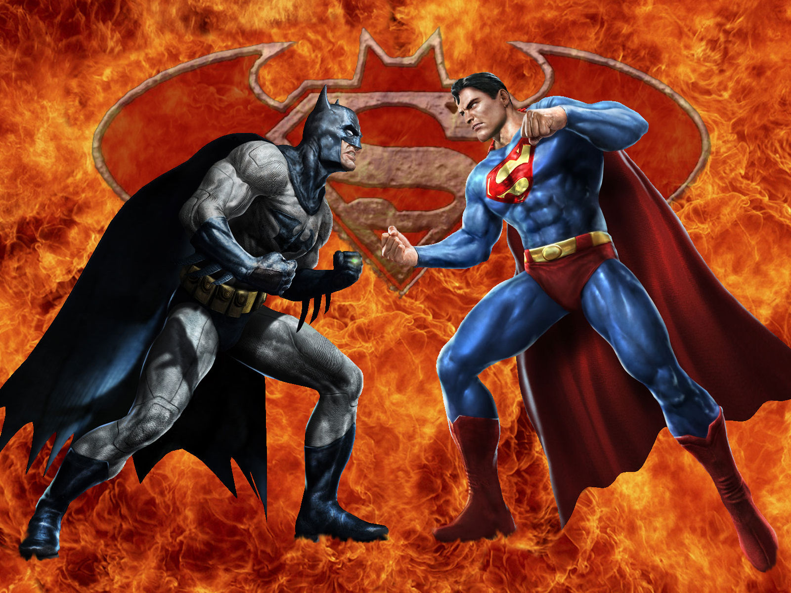 the heroes of batman and superman and the general superhero agenda