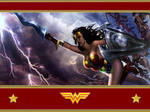 MK VS DC Wonder Woman WP