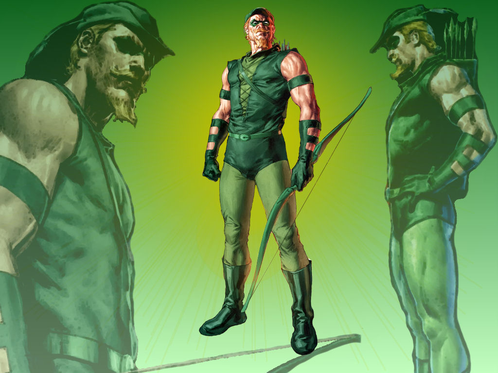 CFJ Green Arrow WP 1 by Superman8193