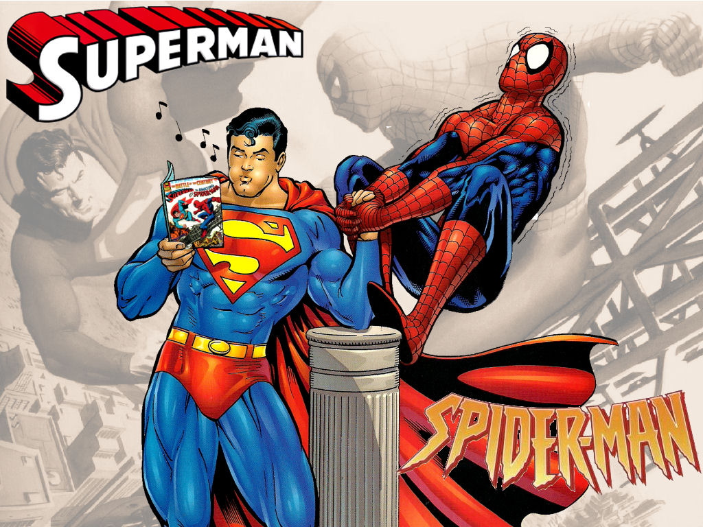 http://fc07.deviantart.net/fs71/f/2011/102/3/9/superman_vs_spiderman_wp_1_by_superman8193-d3dt53g.jpg
