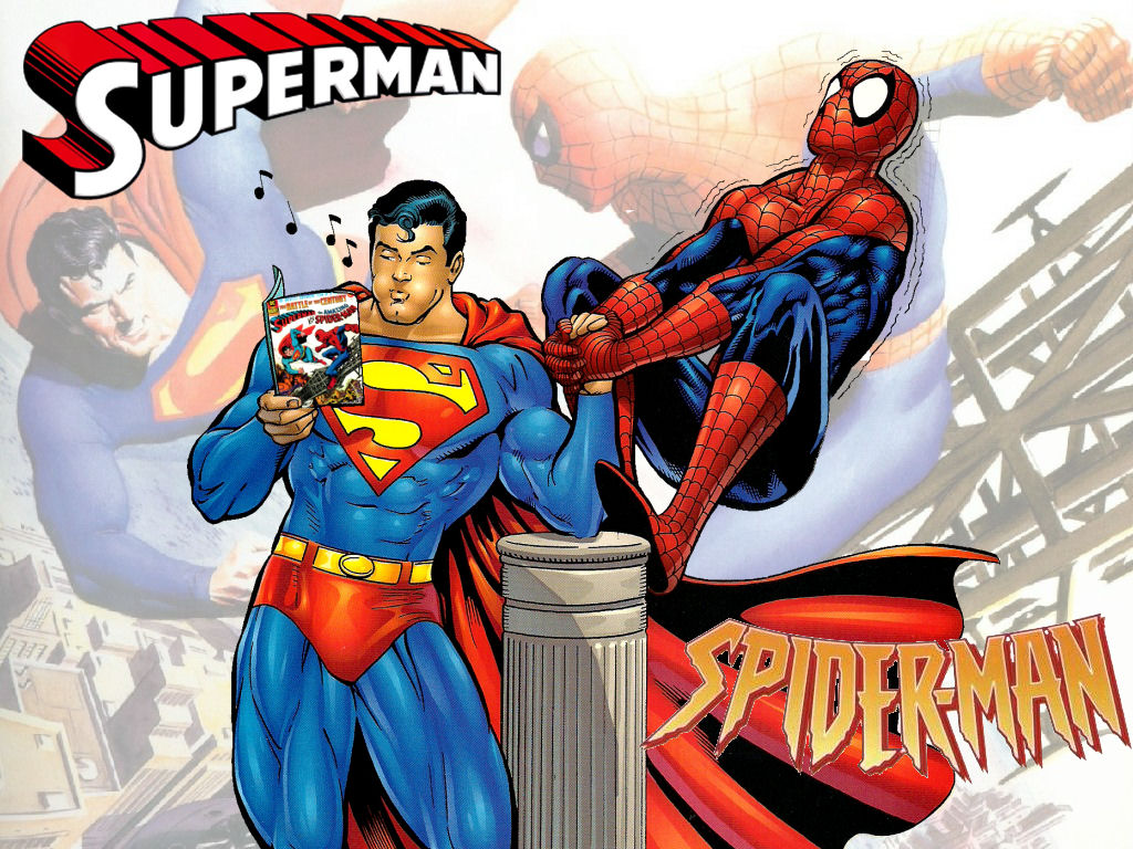 Superman vs Spiderman WP 2