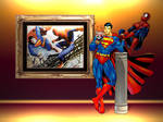 Superman vs Spiderman WP 3