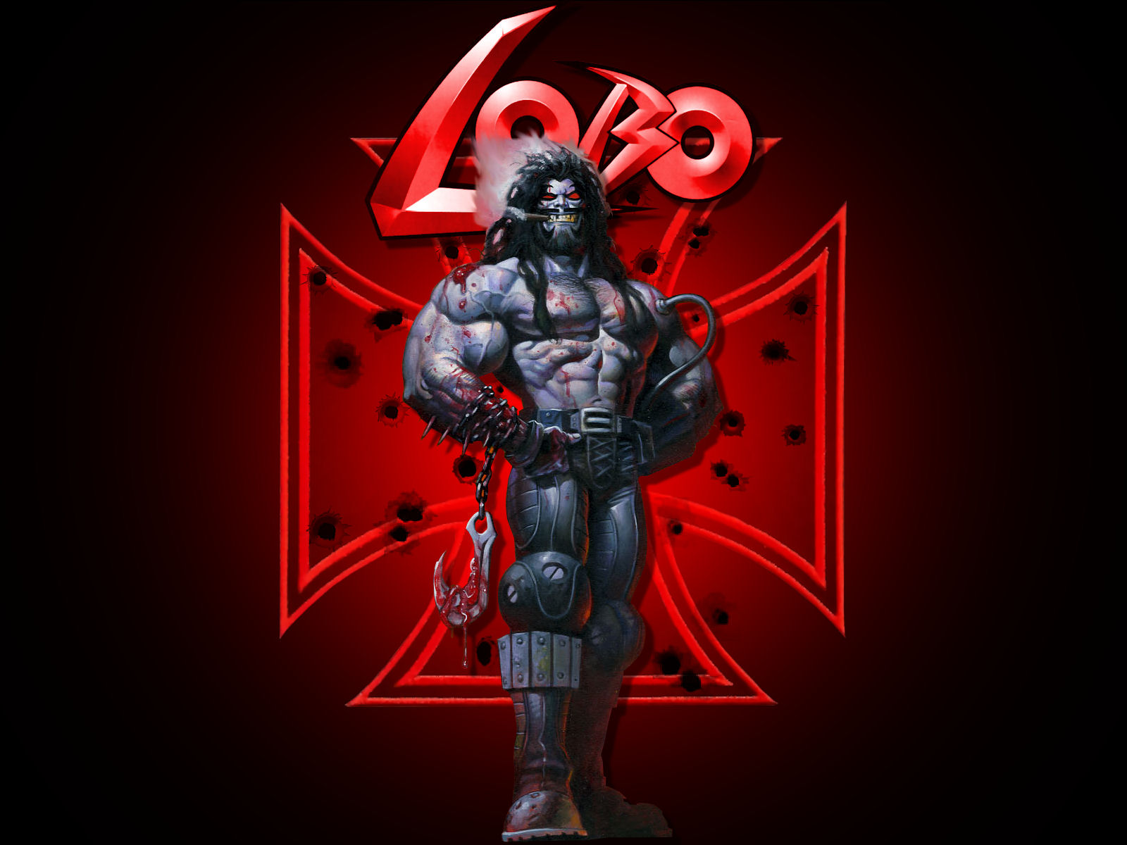 Lobo's Iron Cross by Superman8193
