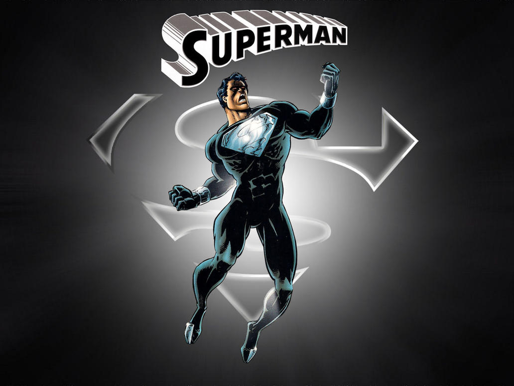 Black Suit Superman by Superman8193 on DeviantArt
