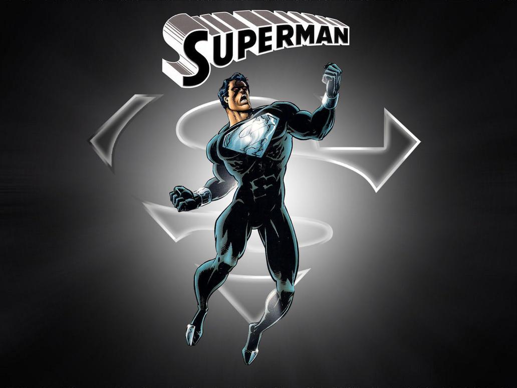 Black Suit Superman by Superman8193 on DeviantArt