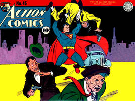 Action Comics 45 by Superman8193