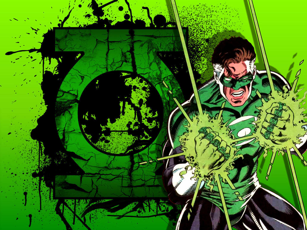 Emerald Twilight Hal - Broken Symbol by Superman8193