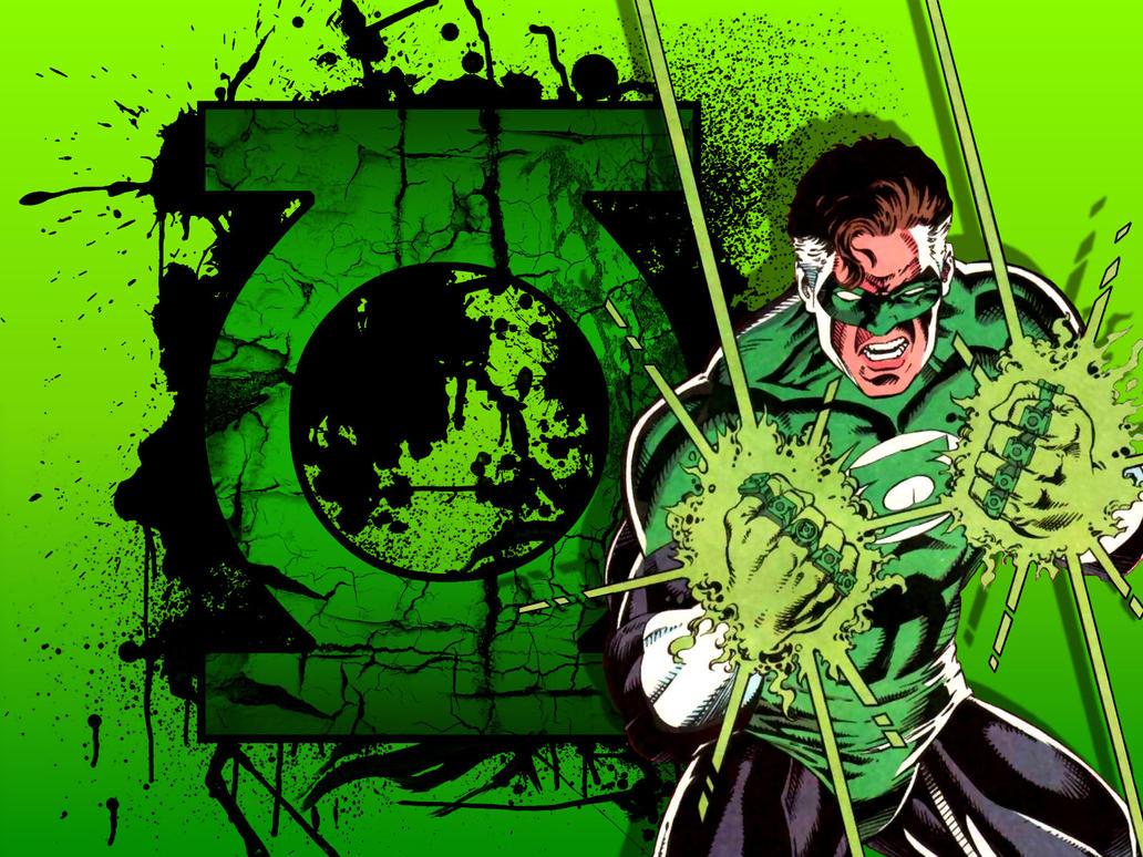 Emerald Twilight Hal - Broken Symbol by Superman8193