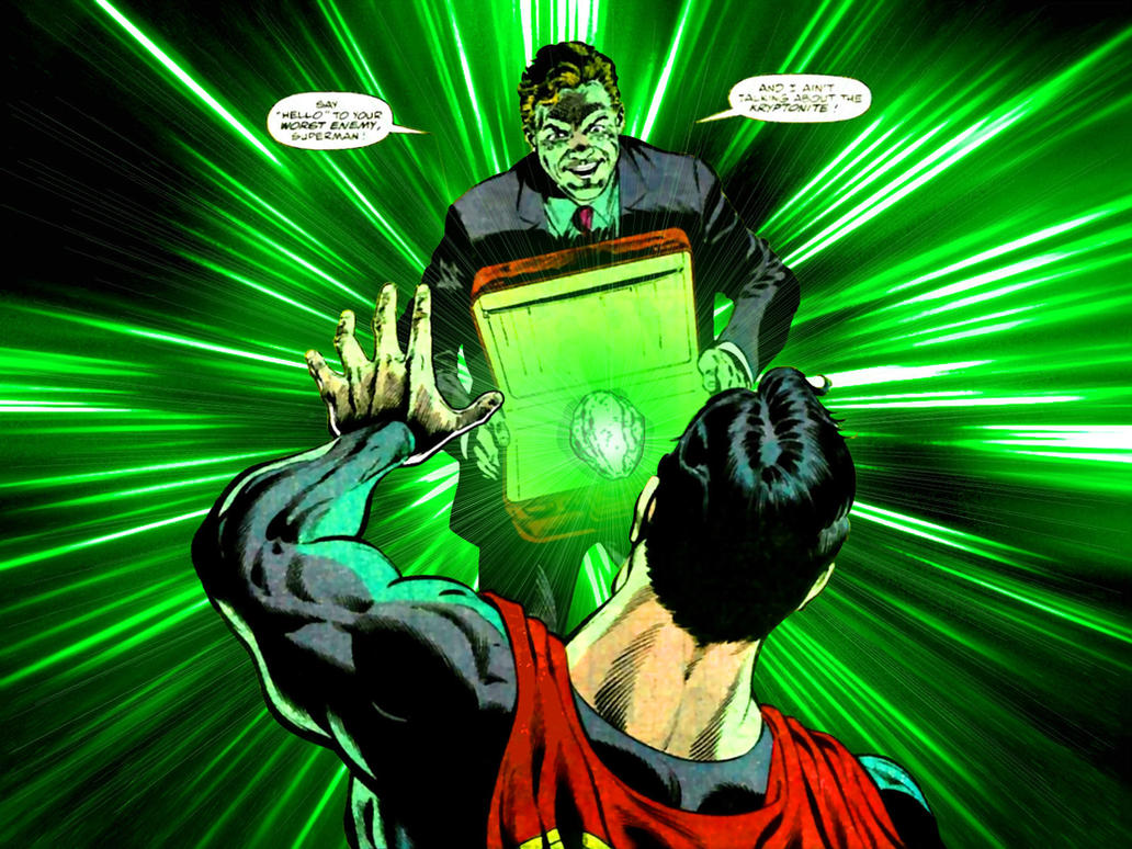 Kryptonite Attack by Superman8193