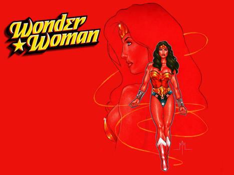 Wonder Woman by MMcDArt