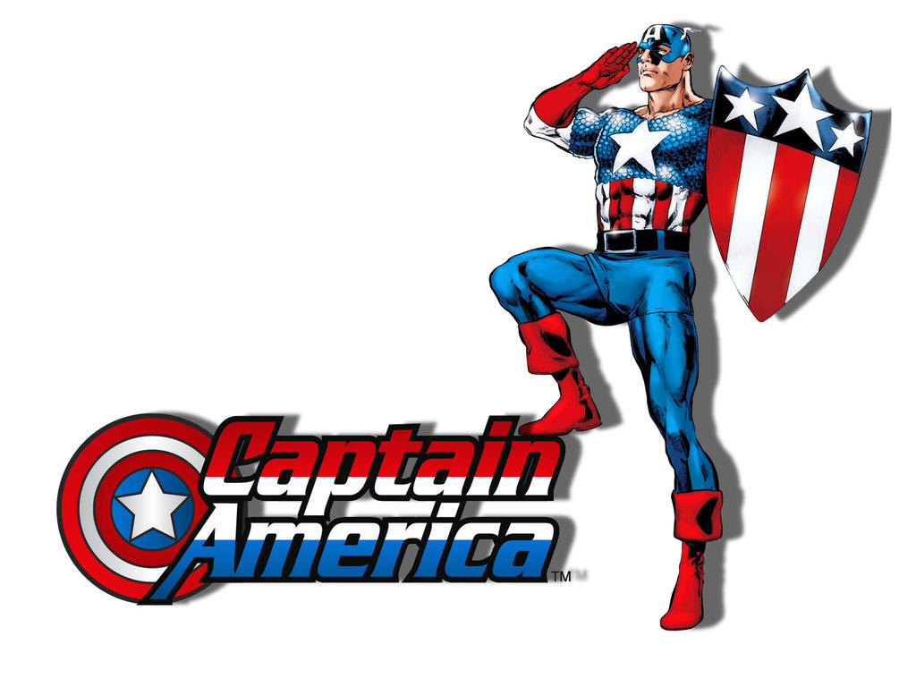Captain America Cartoon Images: Captain America Salute By Superman8193 On DeviantArt